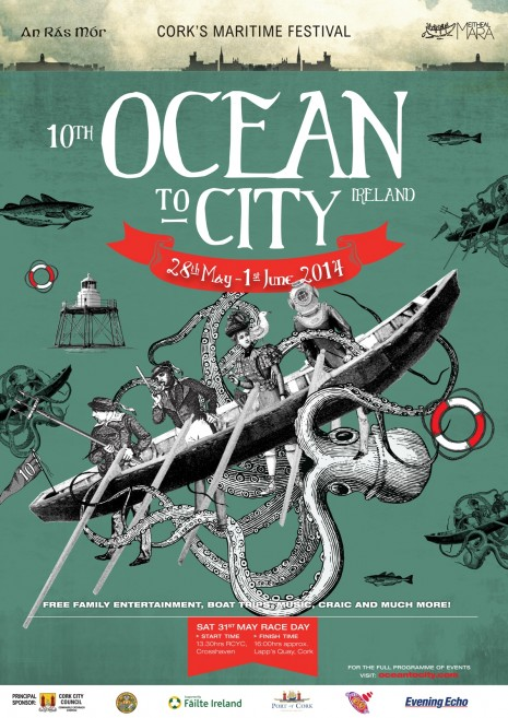 Ocean to City A3 Poster